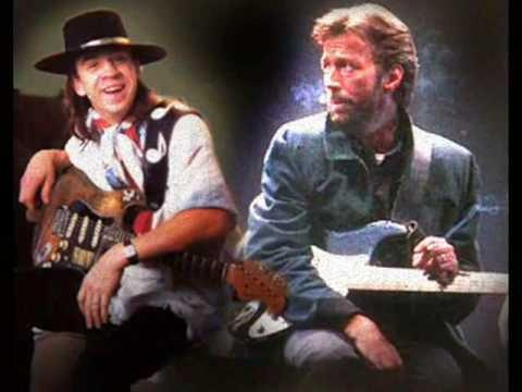 Stevie Ray Vaughn and Eric Clapton - After Midnight 1990