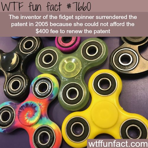 The inventor of fidget spinner - FACTS