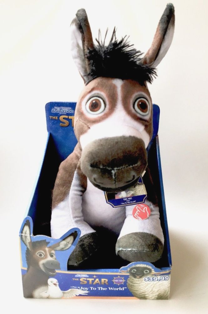 The Star Movie Bo The Donkey Plush Sings Joy To The World