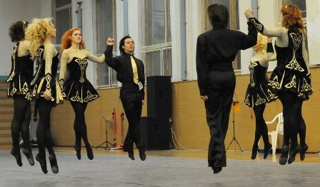 Narnia School of Kiev, Ukraine :-) Fantastic! ;) I LOVE those dresses.