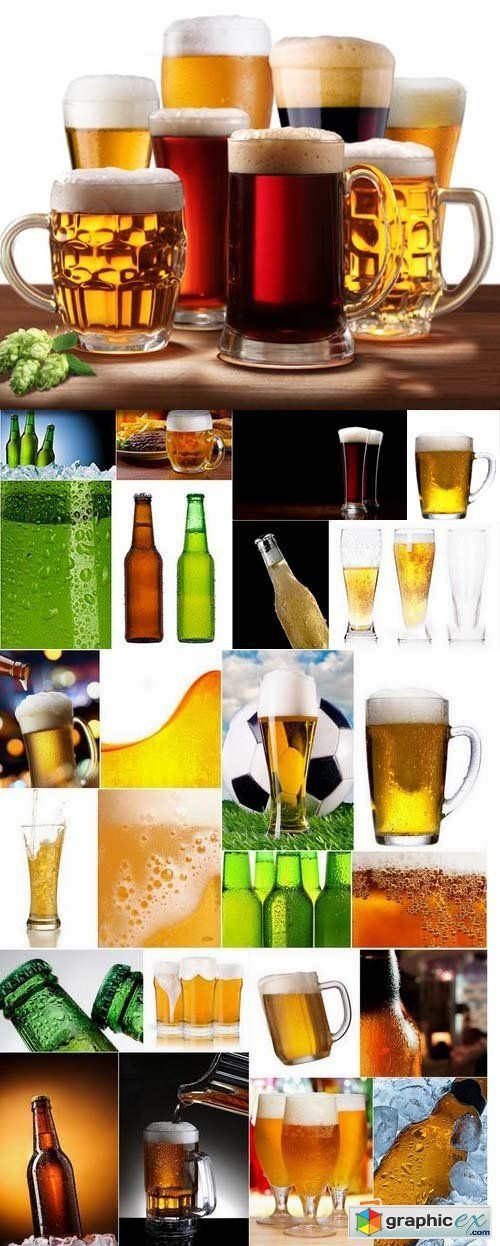 Cold Beer stock Images 25xJPG  stock images