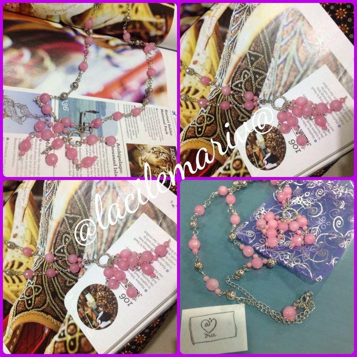 pinky necklace @lemariv@