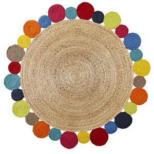 daisy rug - multi - Lilly & Lolly Designer Kids Furniture & Linen