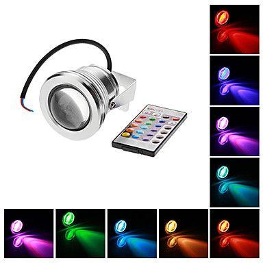 Focos LED Impermeable 10W 1 LED Integrado 500 LM RGB AC 12 V 1 pieza 853774 2016 – €17.99