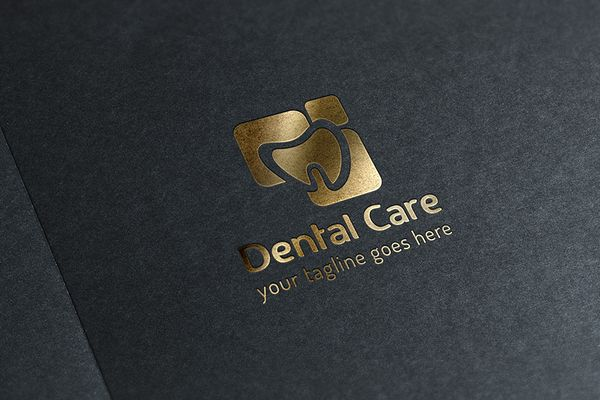 Dental Care Logo by GladicMonster on Creative Market
