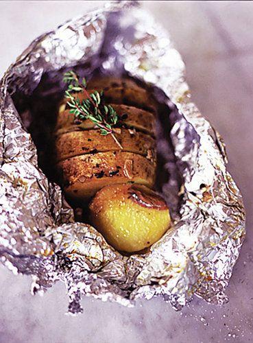 Рецепты из картофеля. Картофель в фольге