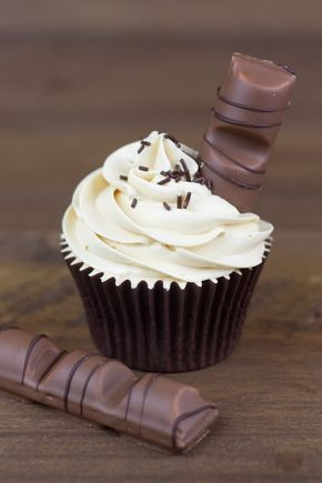 Objetivo: Cupcake Perfecto.: Cupcakes de Kinder Bueno