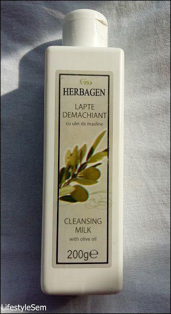 LifestyleSem.Blogspot.Ro: Herbagen: Lapte demachiant cu ulei de măsline