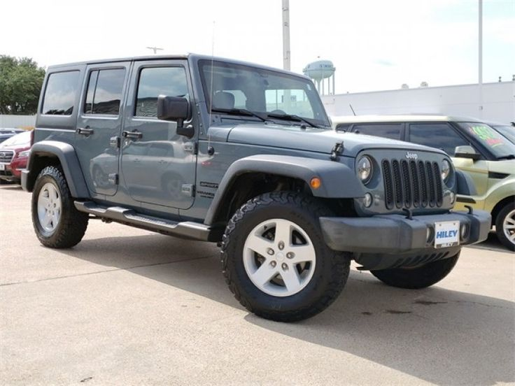 Used 2015 Jeep Wrangler 4WD Unlimited Sport for sale in