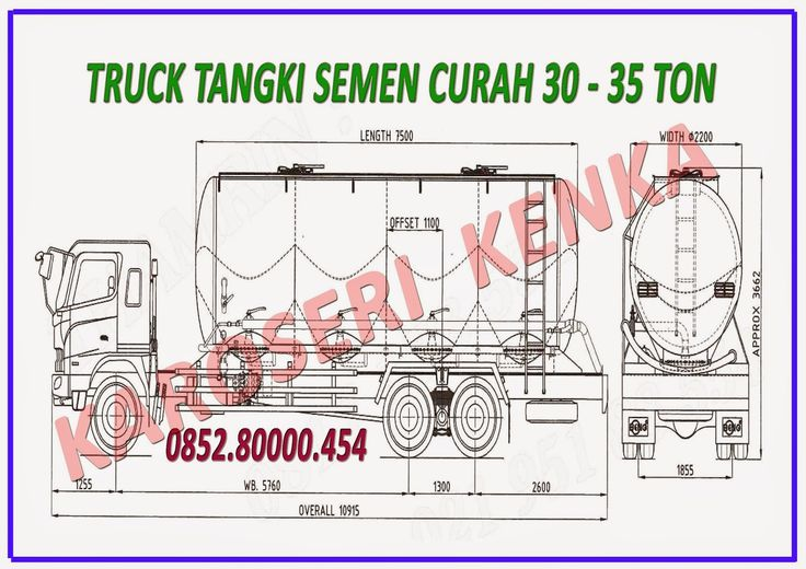 KAROSERI TRUCK bulk carrier >> KAROSERI KENKA