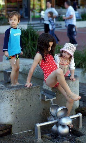 Tumbalong Park Playground, Darling Quarter, Darling Harbour, Sydney http://tothotornot.com/2013/10/hot-tumbalong-park-playground-darling-quarter-darling-harbour-sydney/