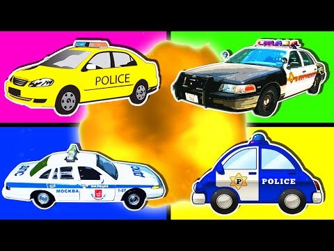 hurry hurry drive the police car song for children nursery rhymes for kids police