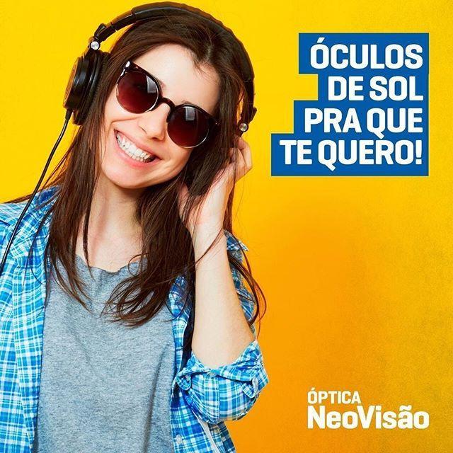 """""""Os óculos de sol não são apenas um acessório, mas um item indispensável para manter a saúde dos olhos. Na @optica_neovisao você garante seus óculos de sol com sofisticação, qualidade e estilo. . . 📌Rua Euclides da Cunha,1133, bairro #JardimdosEstados 📲(67)99870-0379 WhatsApp ☎️(67)3025-7450 . . . Mais informações em www.achenobairro.com.br , baixando nosso aplicativo e seguindo-nos no facebook e instagram! . . #oculosdesol #sunglasses #protecao #achenobairro"""" by @achenobairro…"""