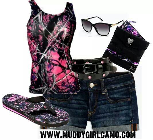 Cute camo clothing for women