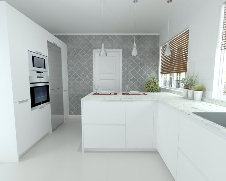 M s de 1000 ideas sobre cocina de granito blanco en - Encimera granito blanco ...