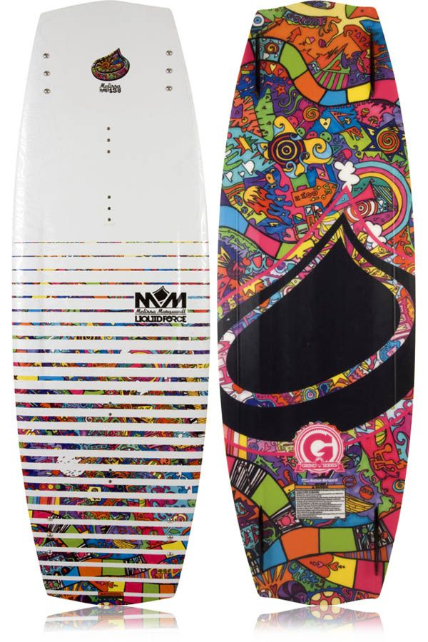 Liquid Force Melissa Wakeboard 2013 at http://www.m2sports.com/wake/wakeboards #wakeboards #wakeboard #wake