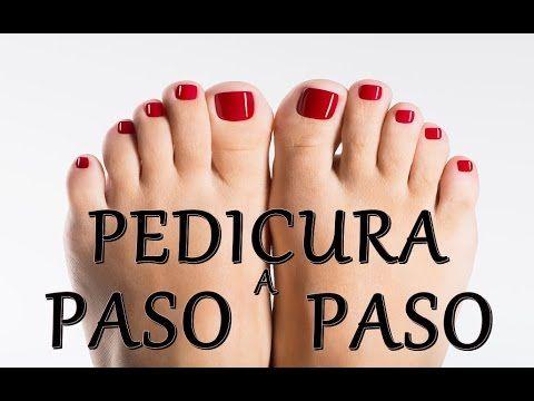 PEDICURE EN CASA PASO A PASO