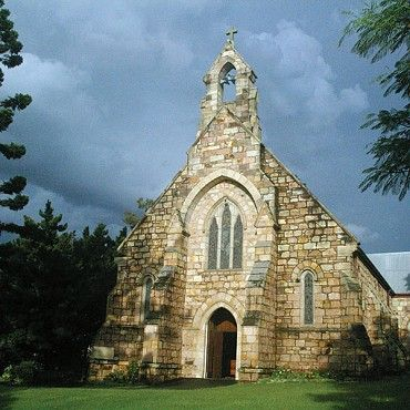 St Mary's Anglican Church: is an oasis of calm and reflection in the bustle of inner urban life and these attributes underline its popularity as a wedding location #boh2014 #unlockbrisbane #brisbane #discoverbrisbane