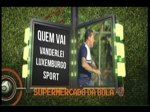 Supermercado da Bola: Vanderlei Luxemburgo assina com o Sport Recife