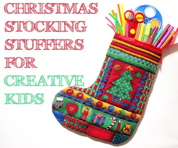 Christmas Stocking Fillers For Creative Kids