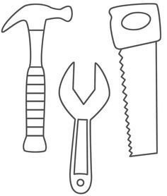 """Use on the """"Creation Station"""" board for donations. Put something on each tool that needs to be donated for people to take. Workshop of Wonders VBS:"""