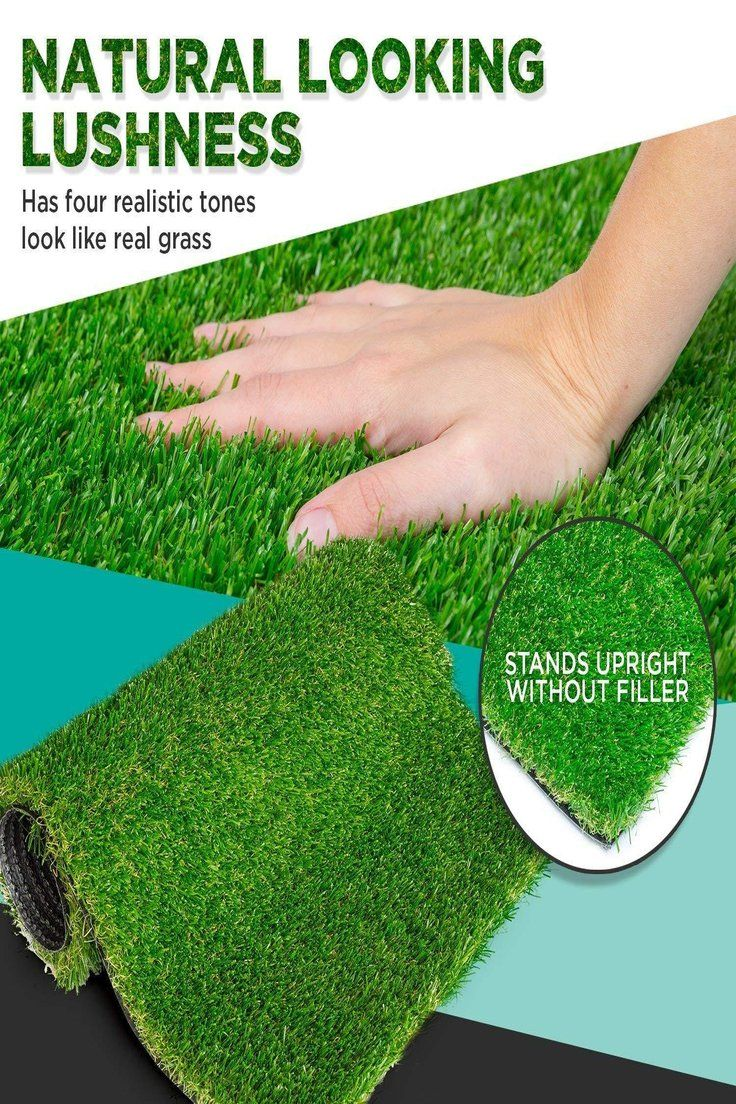 160 71 Savvygrow Artificial Grass Rug Astro Turf Realistic 4 Tone Synthetic Astroturf Artificial Grass Rug Artificial Grass For Dogs Artificial Grass