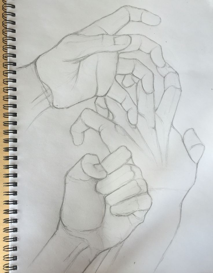By GoldFinch :3  hand, palm, pencil, drawing