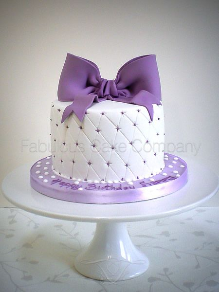 Best 25 Bow Cakes Ideas On Pinterest Pink Cakes