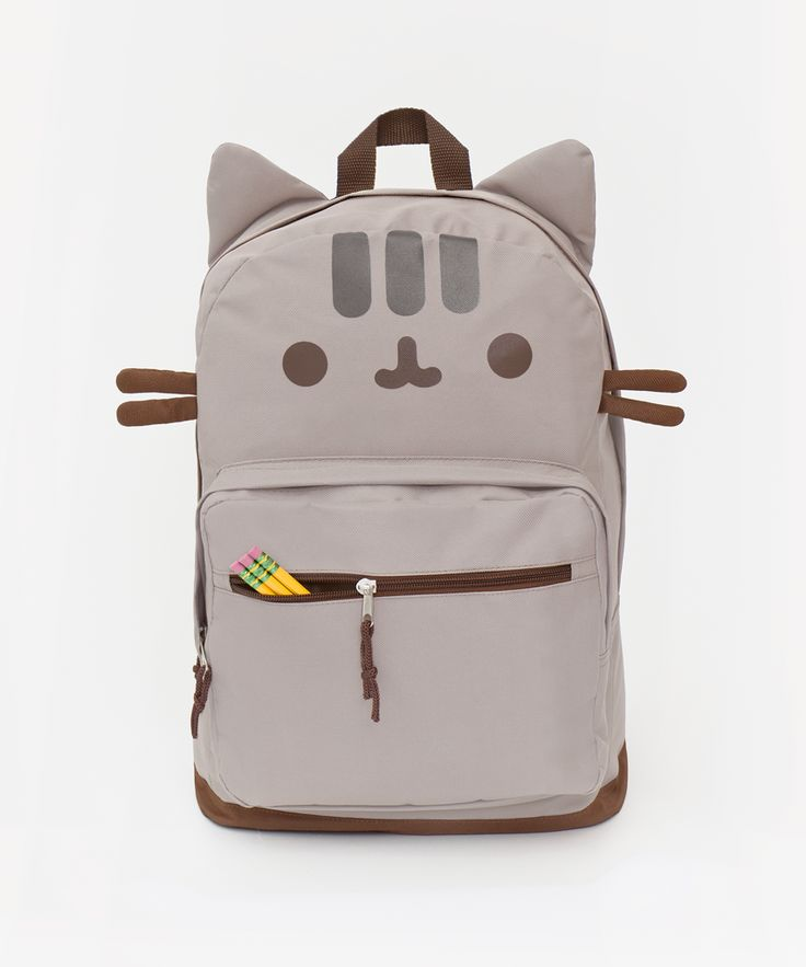 the cutest backpack = a pusheen backpack