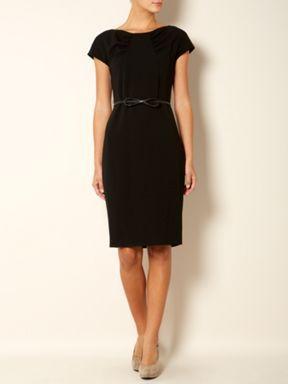 MaxMara Studio Leticia belted dress Black - House of Fraser