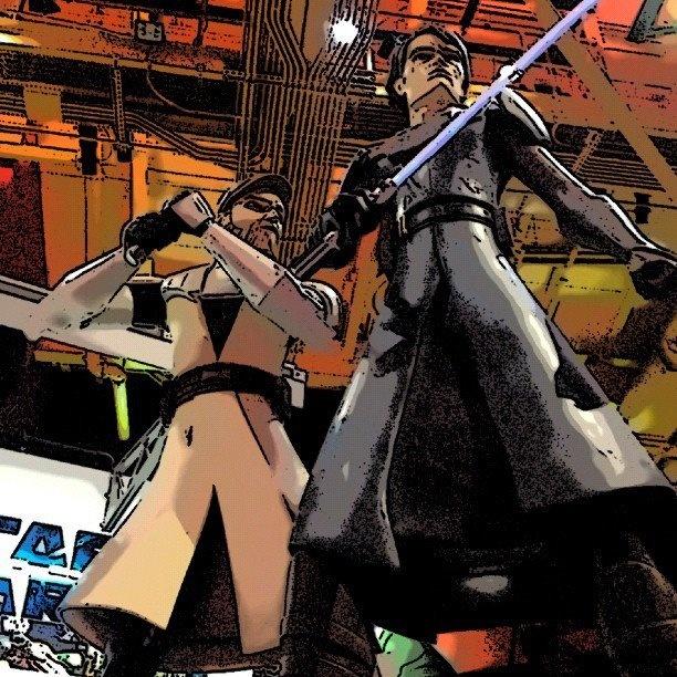 Luke Skywalker & Ben Kenobi: Ben Kenobi, Luke Skywalker