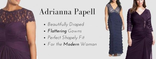 Flattering Mother Of The Bride Dresses: 1000+ Images About Adrianna Papell Dresses For The Wedding