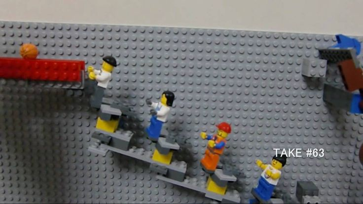 LEGO Rube Goldberg machine レゴのピタゴラ装置                                                                                                                                                      もっと見る