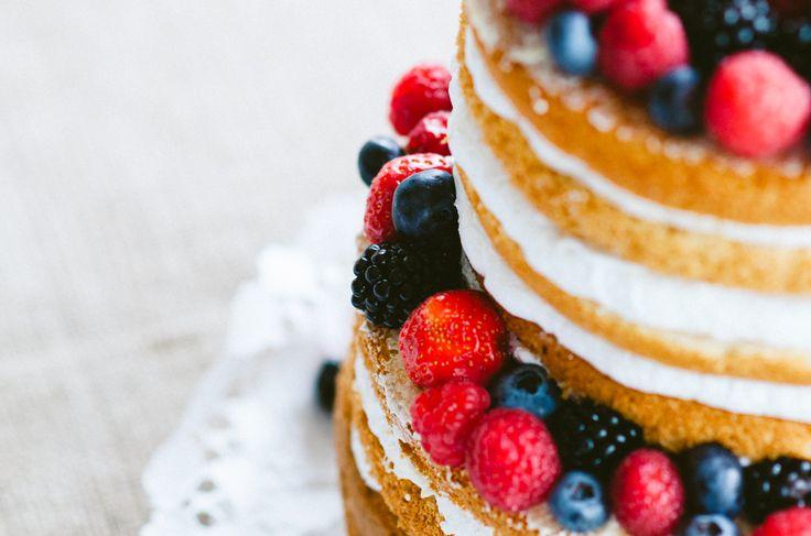 forest wedding cake