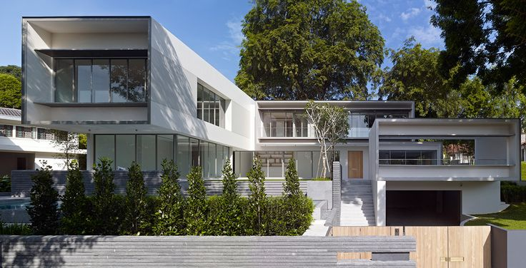 Belmont Road Residence in Singapore by SCDA Architects