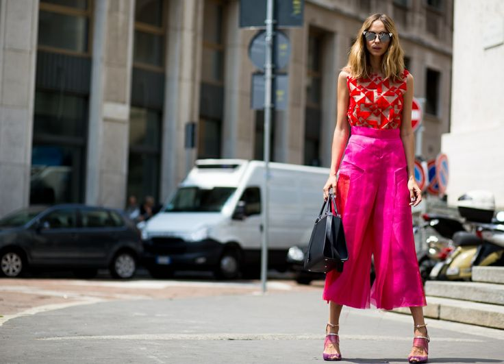Street Style From Milan Fashion Week