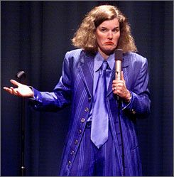 """""""I'm totally an asexual human being. I haven't dated anyone"""".""""  ~ Paula Poundstone-Dallas Voice 2007 interview"""