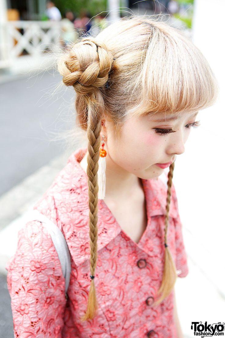 best kawaii hair images on pinterest kawaii hairstyles