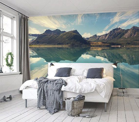 Get The Mural You Want At The Size You Need Every Mural Purchased Is One Of A Kind And Is Printed On Small Master Bedroom Master Bedrooms Decor Bedroom Decor