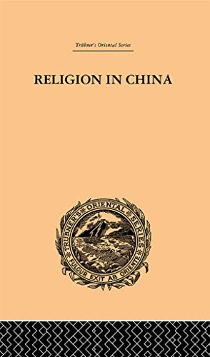 Religion in China A Brief Account of the Three Religions of the Chinese Trubners Oriental Series * You can get additional details at the image link.