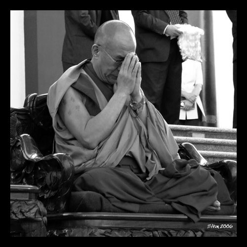 """""""If you have too much expectation, you may come away disappointed."""" ~ H.H. the Dalai Lama 14th <3 lis"""