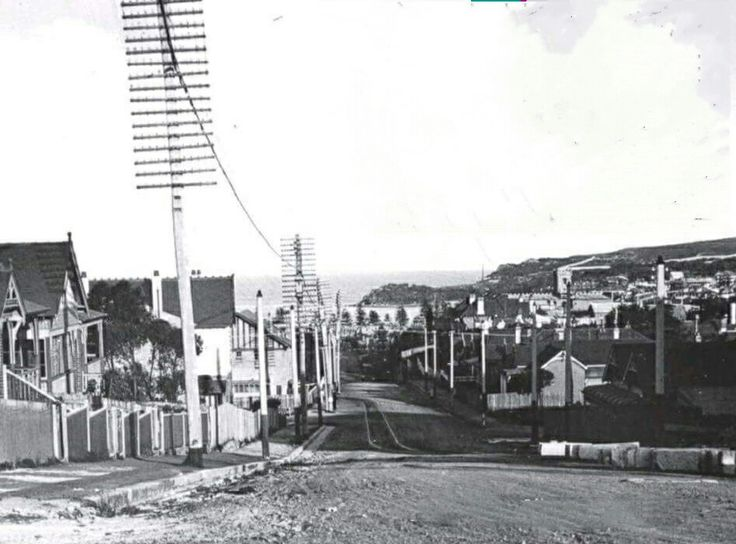 Looking Down Sydney Rd To Manlyin The Northern Beaches Region Of In 1928