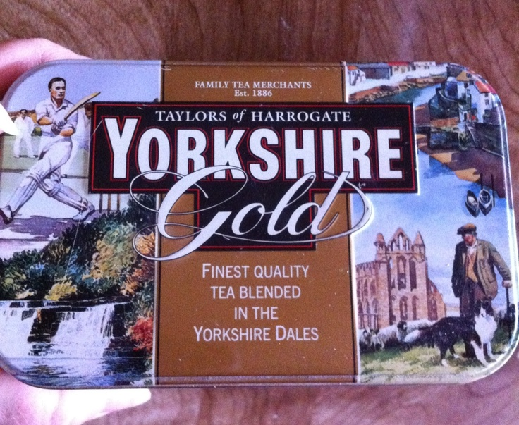 Yorkshire Gold tea. The very best tea.
