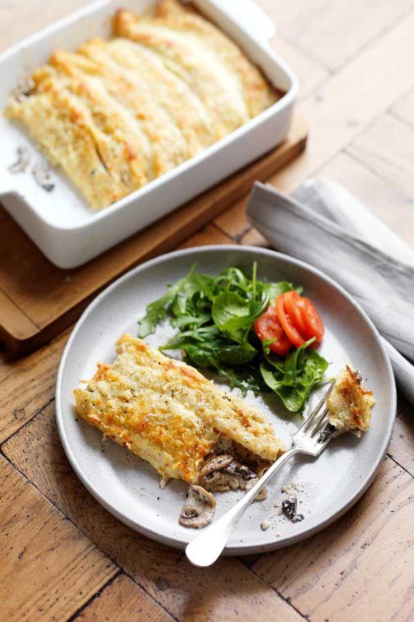 144 best veggie lovin images on pinterest morocco travel cream and mushroom crepe bake recipe a great vegetarian lunch or dinner forumfinder Gallery