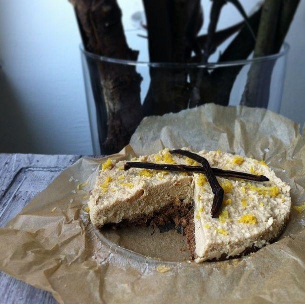 Gezonde 'guilty pleasure': Geen-zuivel cheesecake