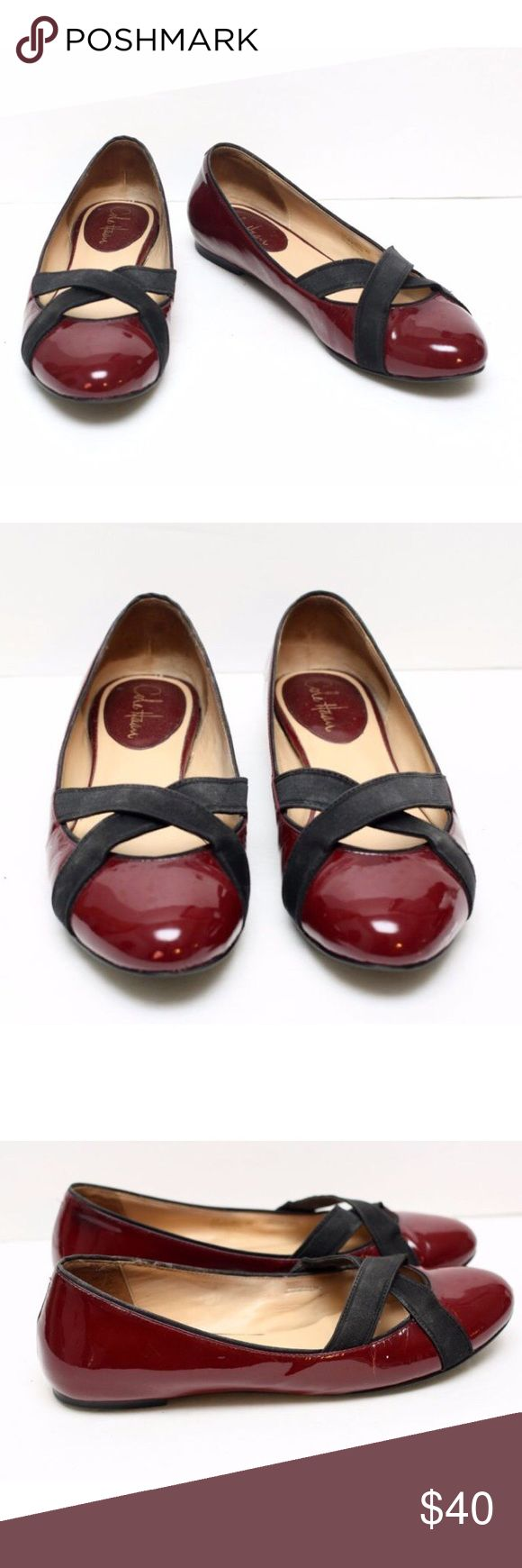 Cole Haan Air Lyric Red Ballet Flats Cole Haan Air Lyric Red Ballet Flats. Size 9. Cole Haan Shoes Flats & Loafers