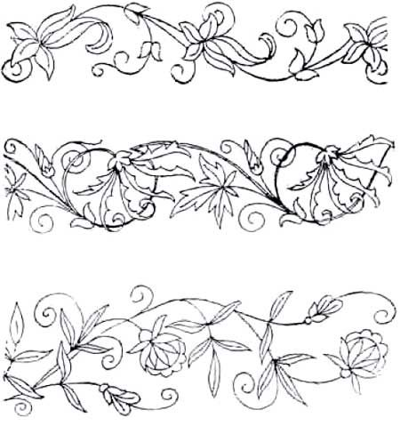 34 Best Motifs Images On Pinterest Arabesque Embroidery Designs