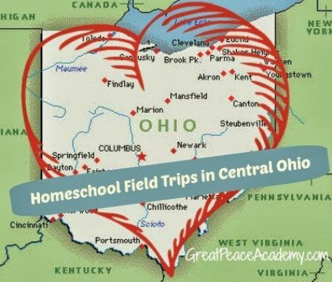 Wealth of Options Field trip opportunities in the state of Ohio are abundant, especially in central Ohio. I've lived in this state for 15 years and my husband grew up a Buckeye. Sometimes though when you live in a place