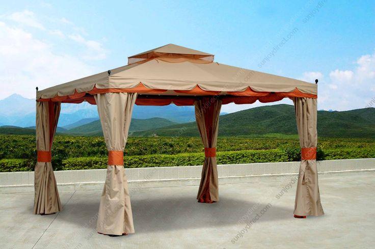 SunjoyDirect.com - Sunjoy Walmart Benen Gazebo Canopy Replacement Fabric Cover