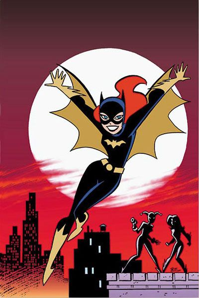 Batgirl & Supergirl Adventures - Bruce Timm